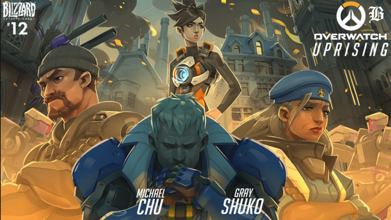 Uprising (digital comic) | Overwatch Wiki | FANDOM powered by Wikia