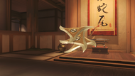 Genji sparrow golden shuriken