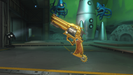 McCree classic golden peacekeeper