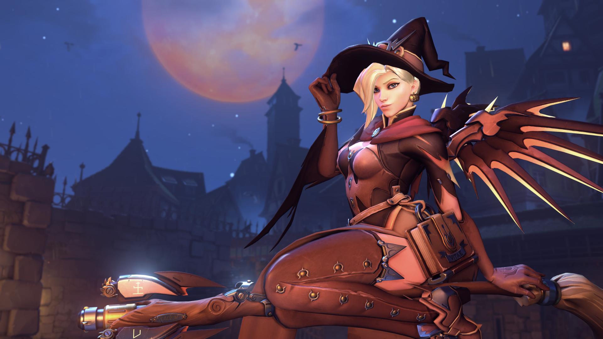 Image - Halloween Terror 2017 Menu Mercy.png   Overwatch Wiki ...