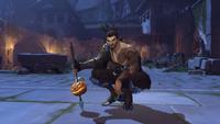 Hanzo halloweenterror2017 victorypose skewered