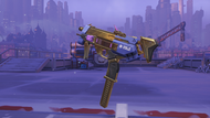 Sombra classic golden machinepistol