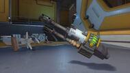 Wrecking Ball biohazard quad cannon