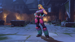 Zarya halloweenterror totally80s