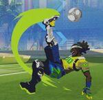 Lucio Spray - Soccer - Olympics
