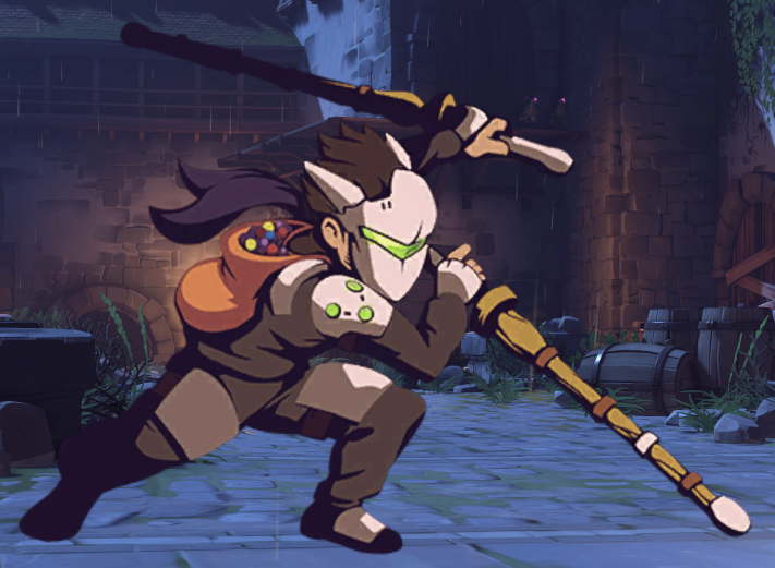 Image - Genji Spray - Trick Or Treat.png | Overwatch Wiki | FANDOM ...