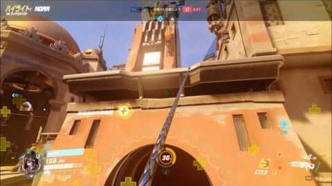【Overwatch】 Best Sniping 【WidowMaker】