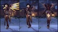 Mercy (Witch skin) turn-around