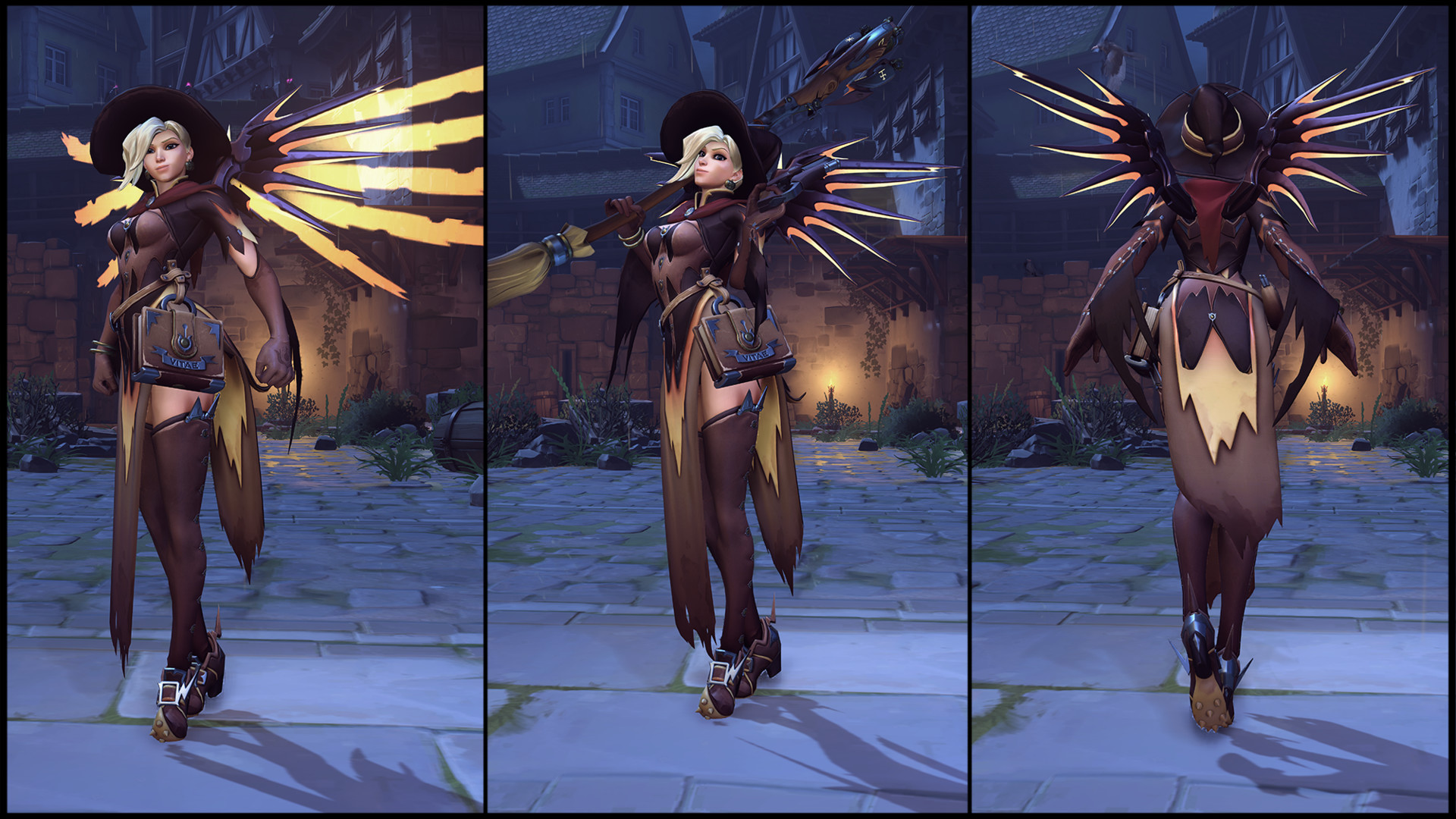 Image - Mercy (Witch skin) turn-around.jpg | Overwatch Wiki ...