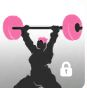 Weight Lifting Olympics Player Icon