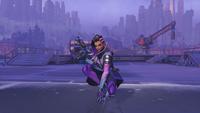 Sombra kneeling