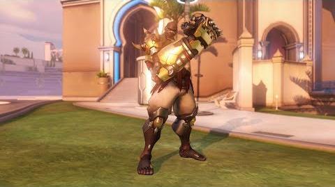 Overwatch Doomfist emote - Heroic