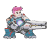 Zarya Spray - Pixel
