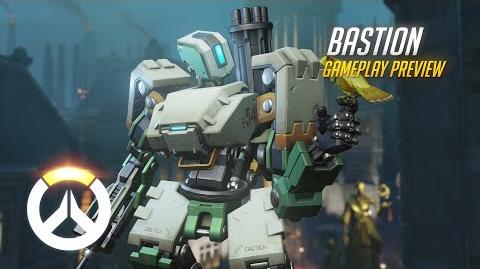 Overwatch Bastion Gameplay Preview 1080p HD, 60 FPS