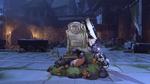 Zarya halloweenterror2016 victorypose rip