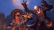 Halloween Terror 2017 Menu Reaper McCree