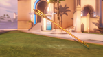 Mercy classic golden caduceusstaff