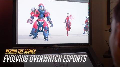 "Behind the Scenes ""Evolving Overwatch Esports"" Overwatch"