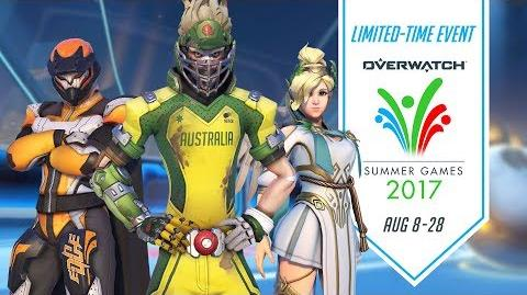 Overwatch Seasonal Event Summer Games 2017