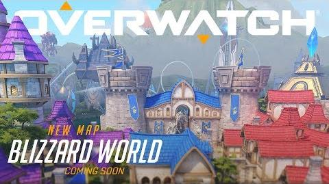COMING SOON Blizzard World New Hybrid Map Overwatch