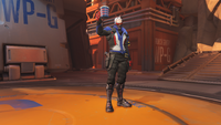 Soldier76 toast