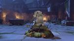 Ana halloweenterror victorypose rip