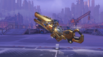 Zarya classic golden particlecannon