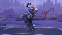 Zarya flexing