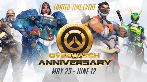 NEW SEASONAL EVENT Welcome to our Overwatch Anniversary!-1