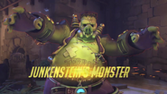 Junkenstein's Revenge-Monster