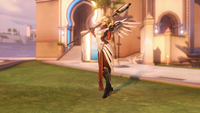 Mercy victorypose carefree