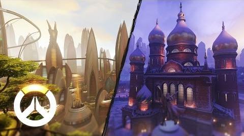 Overwatch - Nuevos mapas Industrias Volskaya y Numbani