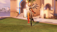 Mercy victorypose mistletoe