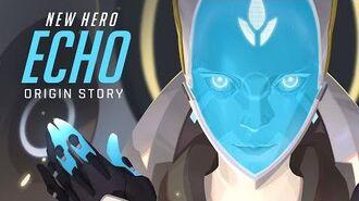 NEW HERO – COMING SOON Echo Origin Story Overwatch