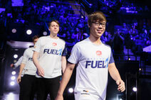 Dallas Fuel betritt die Arena