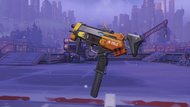 Sombra incendio machinepistol