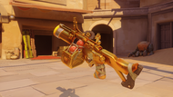 Junkrat rusted golden fraglauncher