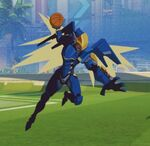 Pharah Spray - Basketball - Olympics