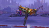 Sombra losmuertos golden machinepistol