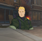 Spray Soldier 76 Commando