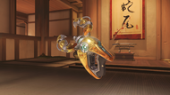 Symmetra goddess golden photonprojector