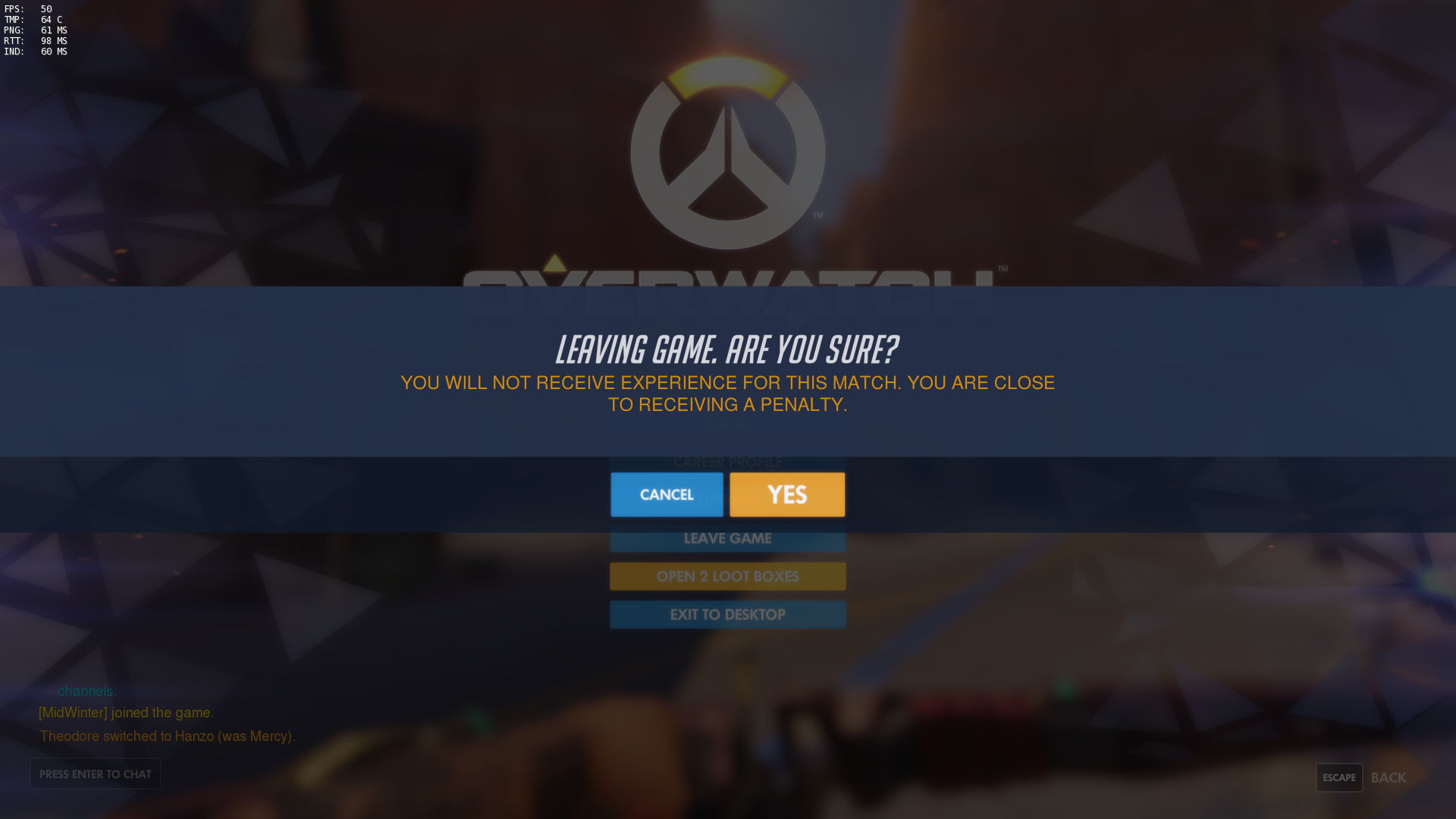 overwatch reset time