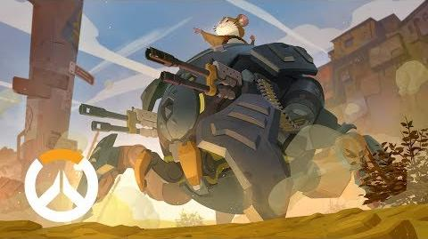 История героя Таран Overwatch