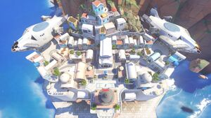 Ilios overhead map