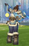 She looks happy