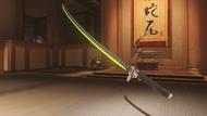 Genji malachite dragonblade