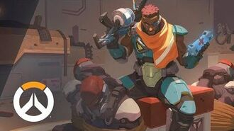 NEW HERO – NOW PLAYABLE Baptiste Origin Story Overwatch