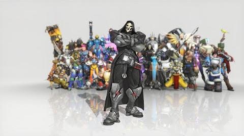 Overwatch - Anniversary Reaper emote - Dance