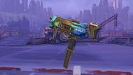 Sombra mar golden machinepistol
