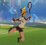 Mercy Spray - Badminton - Olympics